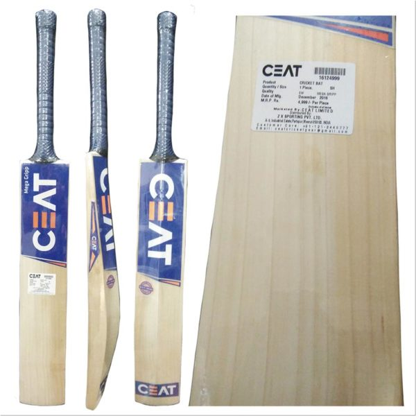 CEAT Mega Grip English Willow Cricket Bat