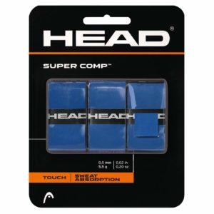HEAD Super Comp Overgrip Tape Blue